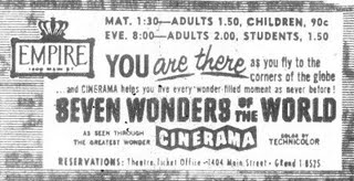 Seven Wonders Of The World 1-1-62